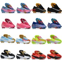 Wholesale cr7 indoor high top shoes for sale - Group buy 2020 top mens soccer shoes Mercurial Superfly Elite FG soccer cleats CR7 neymar Ronaldo football boots high low ankle scarpe calcio
