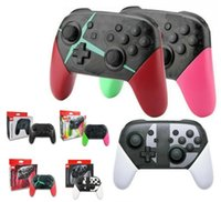 Wholesale switch nintendo controller resale online - 4 Color Bluetooth Wireless Remote Controller Pro Gamepad Joypad Joystick For Nintendo Switch Pro Console factory Quality