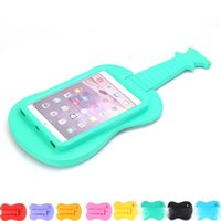 Wholesale kid friendly tablets resale online - Cgjxs For Ipad Mini Cute Guitar Kids Friendly Eva Foam Safe Shockproof Case For T110 T230 T1 A7 Tablet Stand Holder Cover