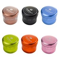 6 Colors Sharpstone Version Herb Grinders 63mm OD 4 Layers Aluminum Alloy Herbs Grinder Tobacco Crushers Smoking Accessories GR293