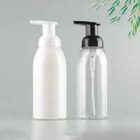 Wholesale plastic bottles for cosmetic for sale - Group buy 360ML hand sanitizer foam pump plastic Bottle for disinfection liquid cosmetics Hot sale free fast sea shipping EWF2412