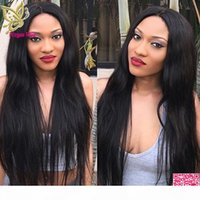 Wholesale staright hair for sale - Group buy Natural Staright Lace Wigs Brazilian Human Hair Lace Front Wigs Unprocessed Human Hair Full Lace Wig For Black Women Natural Black