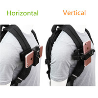 Wholesale iphone shot online – custom Universal Cell Phone Chest Mount Harness Strap Holder Mobile Phone Clip for Smartphone Video Outdoor shooting For xiaomi iphone