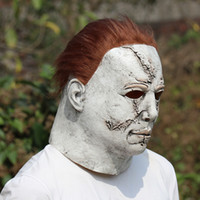 Wholesale mask michael myers for sale - Group buy Halloween Michael Myers Mask Horror Carnival Mask Masquerade Cosplay Adult Full Face Helmet Halloween Party Scary Major Masks RRA3672
