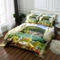 Wholesale 3d bedding set california king for sale - Group buy Girl Bed Set d Bedding Sets Bedsheet Pillowcase Duvet Bed Cover Twin King Queen California King Flat Sheet Linen Size