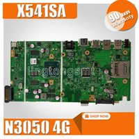 Wholesale For Asus X541SA N3050 G laptop motherboard X541SA XO026D Non integrated mainboard tested