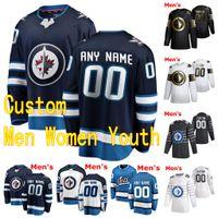 Wholesale ice hockey winnipeg for sale - Group buy 2020 Winnipeg Jets Hockey Jerseys Cole Perfetti Nate Thompson Derek Forbort Nelson Nogier Custom Men Women Youth Stitched