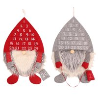 Wholesale christmas decorations door for sale - Group buy Hot Christmas Decor Advent Calendar Forest Man Christmas Ornaments Lobby Home Living Room Door Wall Party Pendant Decorations