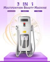 Wholesale multi purpose machine for sale - Group buy Multi purpose IPL SHR Picosecond Laser Beauty Machine Vertical Pico Second Laser Non invasive Painless Tattoo Removal Equipment