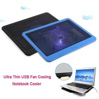 Wholesale cool laptops designs for sale - Group buy Laptop Cooling Mini Fan USB Interface Tablet Cooler Cooling Pad Mute Design Safe For Notebook Computer Fan