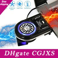 Wholesale fans exhaust resale online - New Laptop Pc Cooler Exhaust Cooling Fan Heat Dissipation High Performance Fan For Fast Cooling Action Usb Hot Air Extractor