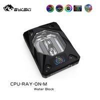 Wholesale amd am2 resale online - Bykski CPU Water Block For AMD Platform RYZEN AM4 AM3 AM3 AM2 AM2 FM2 FM2 v pin v pin CPU RAY ON M