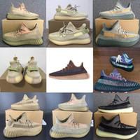 Wholesale 13 spring for sale - Group buy 2020 Kanye West Shoes Cinder Yecheil ASRIEL Static Triple Black Reflective Stylist Sneakers Desert Sage Zebra US Running Shoes Shoe