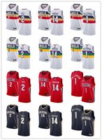 Wholesale zion williamson jersey for sale - Group buy Mens Womens Youth New Orleans Pelicans Brandon Ingram Lonzo Ball Zion Williamson custom Basketball Jerseys