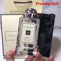 Premierlash Jo London Malone Perfume 100ML Eau de Cologne Wild bluebell Lime Basil Mandarin English Pear Lasting Smell Fragrance Intense