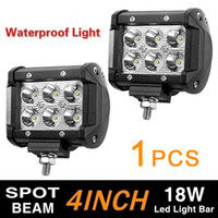 Wholesale off road vehicles resale online - 4 inch w Led Working Light Used for Vehicle Off road Vehicle Motorcycle Indicator Light Lighting Dhl Ups New Arrive