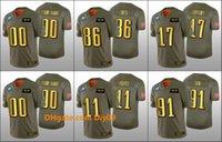 Wholesale eagles salute to service resale online - Philadelphia Eagles Men Fletcher Cox Carson Wentz Zach Ertz Custom Women Youth NFL Golden Jersey Salute to Service