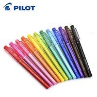 Wholesale pilot pens for sale - Group buy PILOT Erasable Marker DPK SFFL mm Color Pen Set Friction Rub Watercolor Pen Student Art Painting Diy Graffiti Painting