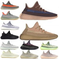 yeezy 350  оптовых-Top quality 2020 Kanye West Men Women Running Shoes Yecheil Yeezreel Hyperspace Lundmark Antlia Static Reflective Zebra Shoes