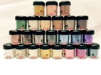 Wholesale free eyeshadow pigments resale online - good quality Lowest Best Selling Newest product g pigment Eyeshadow English Name and number random mixed send gift