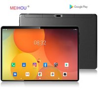 Wholesale tablets 32 gb android resale online - 10 Inch Tablet PC Dual SIM Card Phone Call Android OS GB RAM GB ROM D Tempered Glass Bluetooth Octa Core GPS