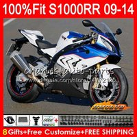 Injection For BMWS1000-RRS-1000RRBody S 1000RR S1000 RR S1000RR 09 10 11 2012 2013 2014 5HC.139 S 1000 RR 2009 2010 2011 12 13 14 OEM ABS Fairing factory blue