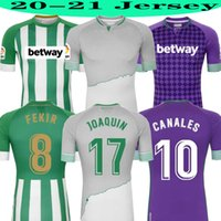 Wholesale kids football tops for sale - Group buy 2020 TOP REAL Betis Football Jersey JOAQUIN Loren BOUDEBOUZ BARTRA CANALES home away rd Training MAN KIDS football shirts