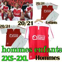 2020 21 Stade de Reims maillot de foot soccer jerseys CAFARO KONAN DIA FOKET CHAVALERIN ZENELI TOURE Men Kids hommes enfants football shirt