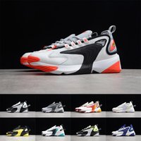 Wholesale retro running resale online - Zoom K Running Shoes Mens Womens Regency Purple Black Red High Quality Retro Sneakers Walking Trainers Size
