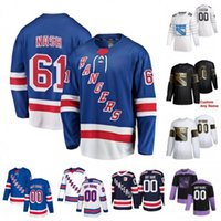 Wholesale hockey rangers resale online - Custom New York Rangers Phillip Di Giuseppe Rick Nash Ryan Lindgren Strome Steven Fogarty Hockey Jerseys Women Stitched