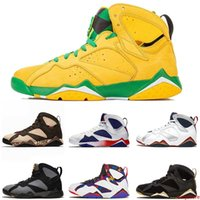 Wholesale champion sneakers for sale - Group buy Fashion Mens Basketball Shoes Sweater Jumpman Oregon Ducks s Patta Olympic Gmp Reflective Champion Hare Ray Allen Sneakers Size