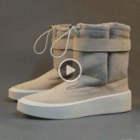 Wholesale god heels resale online - VntgI Fear Of God Men Winter Boots Snow Comfortable Boots Winter Shoes Men Fashion Hip Hop Shoes d50