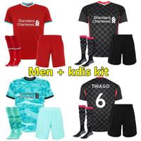 Wholesale 20 Mens soccer jersey New kids kits football jerseys shirt maillot de foot camiseta de fútbol S XXL