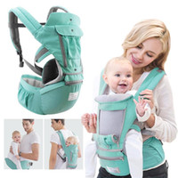 Wholesale hip seat baby carry for sale - Group buy All Seasons Kangaroo Hipseat Baby Sling Stool Waist Bearer Ergonomic Wrap Outdoor Backpack Seat Bag Hip Carry Belt Hold