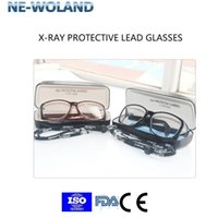 Wholesale x ray glasses for sale - Group buy Genuine X ray gamma ray lead glasses MMPB Front side comprehensive protection for Radioactive workplace lab etc