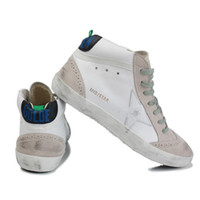 Wholesale golden goose women for sale - Group buy Italy Brand Multicolor Heel Golden Superstar Gooses Designer Sneakers Men Women Classic White Do old Dirty Shoes Casual Shoes Size US5