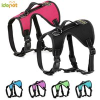Wholesale dog car set resale online - Dog Harness And Collar Set Pet Cat Vest Harness Dog Car Seatbelt Harness Leash Pet Collars For Dogs Chihuahua Yorkies Pug wmtpDl