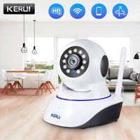 Wholesale wireless internet for sale - Group buy KERUI P HD IP Camera Home Security Indoor Wireless Wifi Surveillance Night Vision Infrared Network Internet Tuya Smart Life