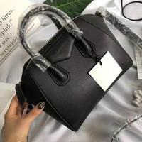 Antigona mini tote bag famous brands shoulder real leather handbags fashion crossbody package female business laptop purse
