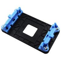 Wholesale amd am2 resale online - AMD BLACK AM2 AM3 AM3 FM1 FM2 Cooling Fan Heatsink Retention Bracket Backplate