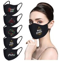 Wholesale winter face masks resale online - DHL Shipping Christmas Face Mask Xmas Party Masks Washable Winter Wamer Face Cover Outdoor Windproof Mask Kimter X761FZ