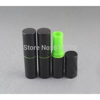 Wholesale diy lip balm container free shipping resale online - 50pcs g Empty Lip Balm Tubes black lip gloss Lipstick tube Diy cosmetic packing Containers