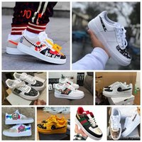 Wholesale running shoes air for sale - Group buy 2020new graffi Hot Dunk cheap Utility Running Shoes Men Women triple air af forces airforce one skateboard mens trainers sports sneakers