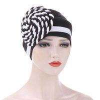 Wholesale muslim headbands resale online - New Design Muslim Hijab Short Hijab For Women Gift Islamic Tube Inner Cap Islamic Hijab Indian Headband Cap Hair Accessories DHF2583