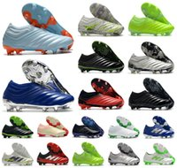 bottes de chasseur taille achat en gros de-Hot Mens Copa 20+ 20,1 FG Glory Hunter Inflight Uniforia Paquet Slip-On 20 + x 19 + x Chaussures de football Chaussures de football Scarpe Calcio Crampons Taille 39-45