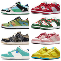 sapatos brancos  venda por atacado-sapatos nike sb dunk low off white Chunky Dunky Civilist Kasina Air Rubber Dunks Chicago Valentine  Mulheres Homens Sports Sneakers Running Shoes Mens Athletic Trainers