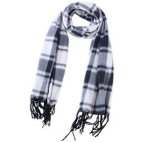 Wholesale winter fur scarf resale online - Fashion Plaid Scarves Grid Tassel Wrap Oversized Check Shawl Tartan Cashmere Scarf Winter Nation Styles Neckerchief Blankets IIA773
