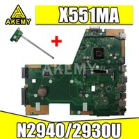 Wholesale X551MA Motherboard N2940 N2920U For Asus F551MA X551MA D550M X551M Motherboard Notebook
