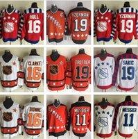Wholesale paul coffey hockey jerseys for sale - Group buy All Star Hockey Steve Yzerman Jerseys Men Wayne Gretzky Paul Coffey Mark Messier Home Orange Trottier Dionne
