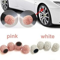 4pcs set Bling Crystal Car Tire Valve Caps 12 Styles Diamond Shining Wheel Caps Vehicle Decoration Automobiles Accessories
